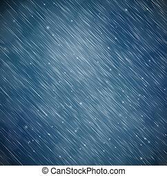 Hintergrund mit Regen