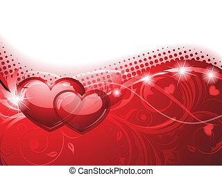 hintergrund, valentines