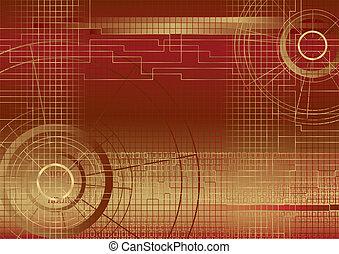 Hintergrundbild rot