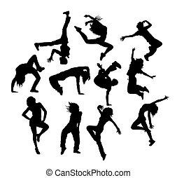 hip hop, tanzen