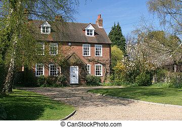 Historische Ablösung des Dorfhauses
