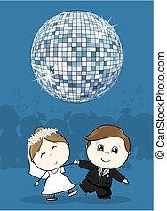 Hochzeit erster Tanz.