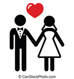 Hochzeits-Ehepaar-Ikone