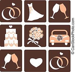 Hochzeits-Ikonen
