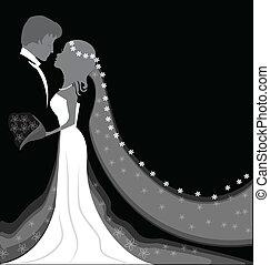 Hochzeitshintergrund.
