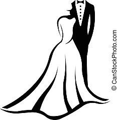 Hochzeitspaar-Logo.