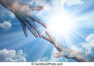 Hoffnung auf Frieden