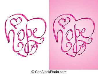 Hoffnung - Brustkrebsbewusstsein