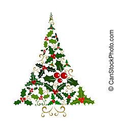 Holly Weihnachtsbaum