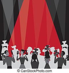 Hollywood-Filmpreis-Einladung