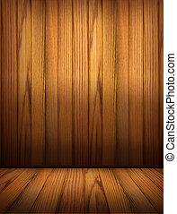 Holz Hintergrund für Design. Innenraum