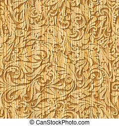 Holzmusterflora