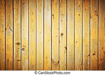 Holzplanken-Stimme. Vintage Zaun-Hintergrund.