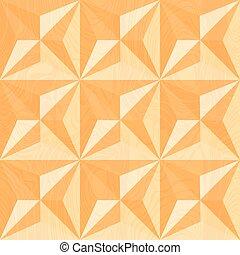 Holzschnitzerei. Geometrischer Hintergrund.