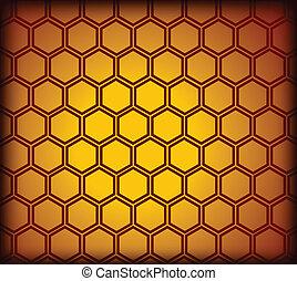 Honeycomb nahtlos. Vector