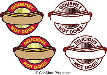 Hot Dog Grafik