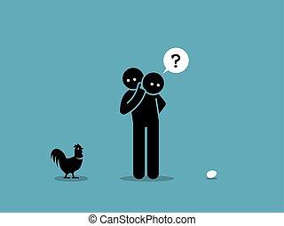 huhn, egg., oder