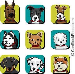 Hunde-Ikonen