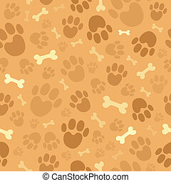 Hunde-Thema ohne Hintergrund 1