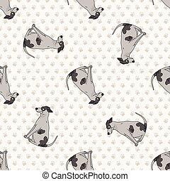 hundehütte, freigestellt, stammbaum, clipart., vektor, mascot., windhund, weisen, sitzen, rasse, gehorsam, abbildung, reizend, purebred, training., breed., hund, eckzahn, karikatur, inländisch, junger hund, rennen