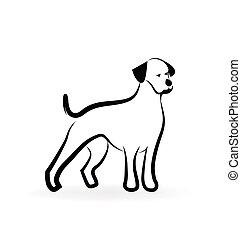 Hundesilhouette-Logo.