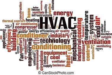 HVAC Wortwolke