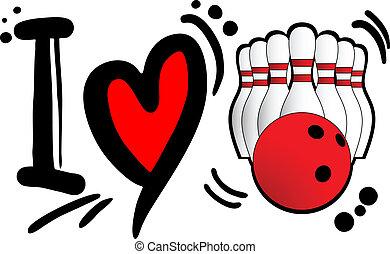 Ich liebe Bowling