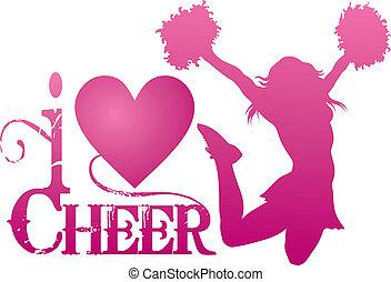Ich liebe Cheerleading