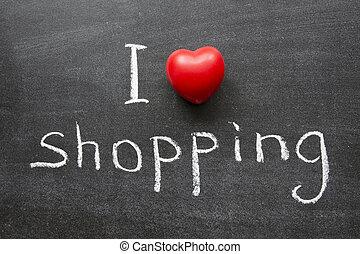 Ich liebe Einkaufen