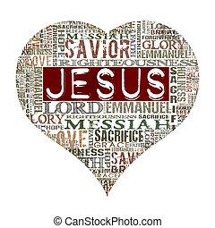 Ich liebe Jesus.