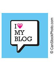 Ich liebe meine Blogblase
