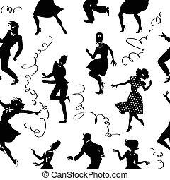 Ich tanze nahtlos.