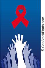 Ich versuche, eine AIDS-Lösung zu erreichen