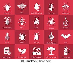 Icon bereit für Schädlingsbekämpfungsfirmen.