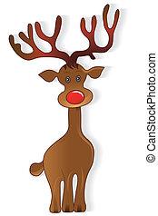 Icon Christmas Hirsch