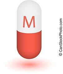 Icon Vitamin M.