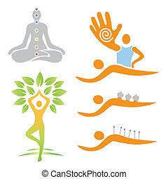 Icons Yoga-Massage Alternativ-Medi