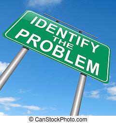 Identifizieren Sie das Problem.