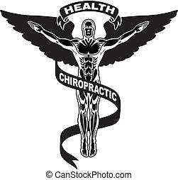 ii, symbol, chiropraktik