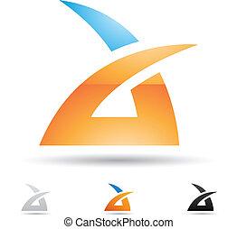 Ikone für Buchstaben A deaktivieren
