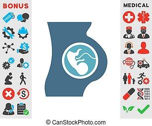 ikone, schwangerschaft