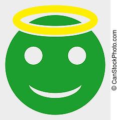 ikone, smiley, abbildung, heilig, raster