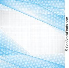 Illustration abstrakter blauer Hintergrund