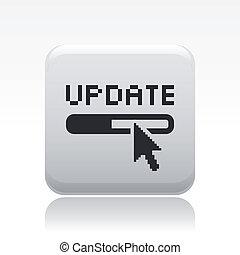 Illustration des einzelnen Updates