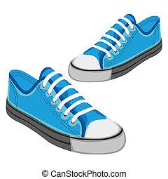 Illustration isolierter Schuhe