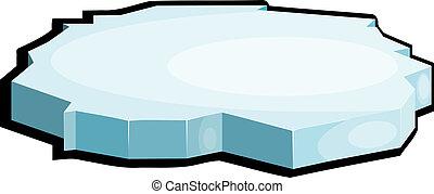 Illustration von Eis. Eps10
