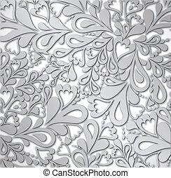 Illustrations-Silber Retro Jahrgang. Vector