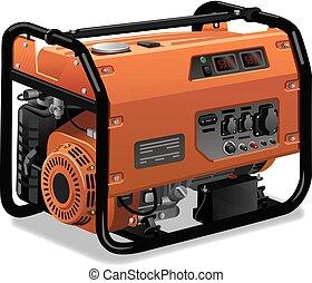 Immovable Energiegenerator.
