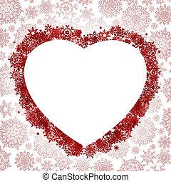 In Form von Herz. EPS 8