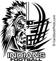 Indianer-Football.